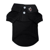 Dog Polo Shirt black size 2xLarge
