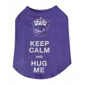 Keep Calm and hug me t-shirt size M 10""