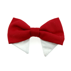 Universal bow tie - solid red type 1