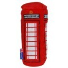 Squeaky plush toy English Telephone Box
