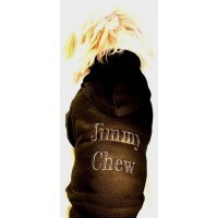 Jimmy Chew Dog Hoodie - size Superdog1 Labrador size colour Red
