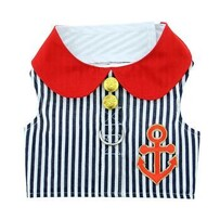 Sailor Boy Fabric Harness with Matching Lead size Large