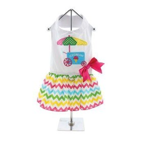 The New Ice Cream Cart Dress is fun and whimsical size XSmall